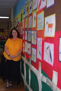Montgomery Catholic St. Bede Elementary Showcases Art 1