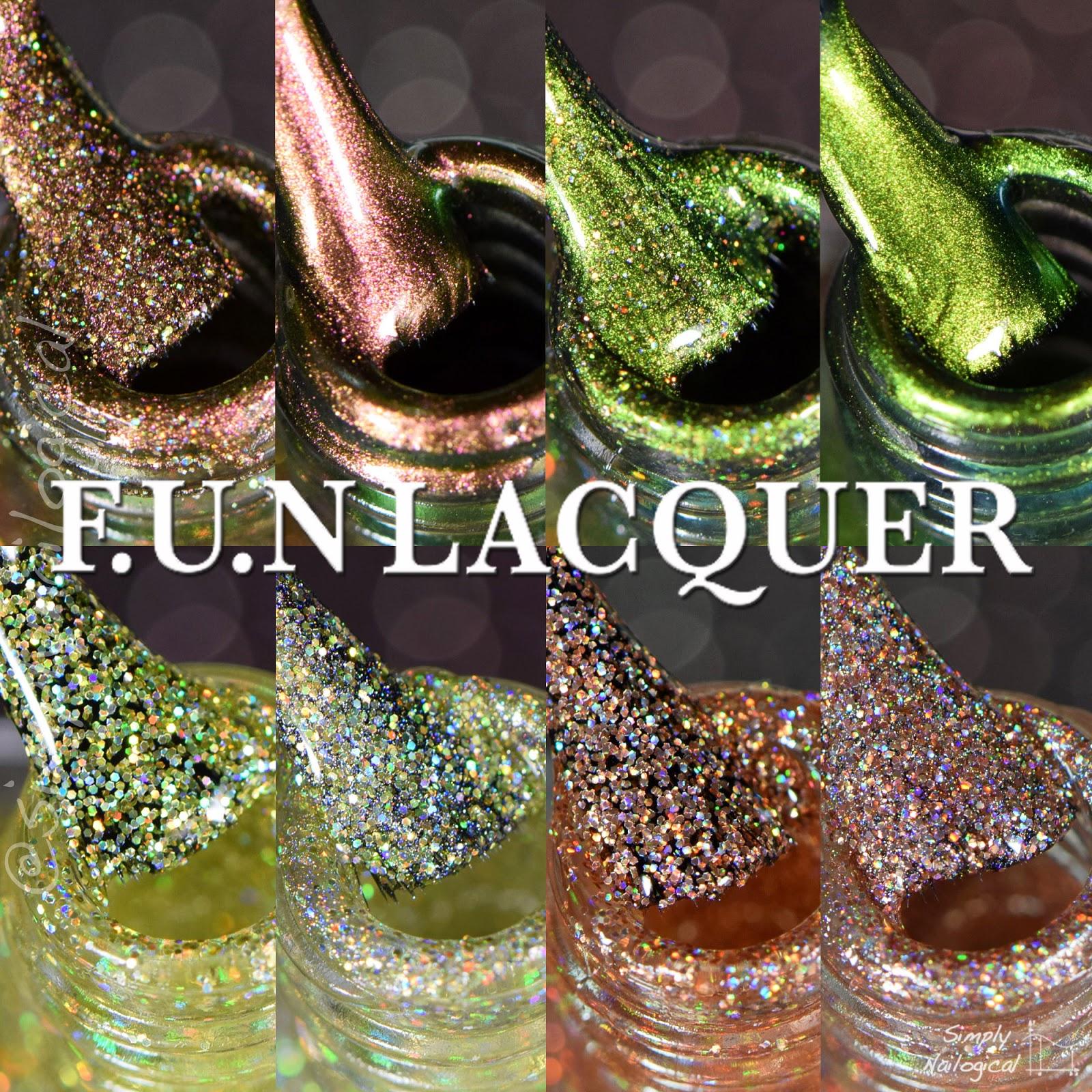 FUN Lacquer Christmas 2014 collection