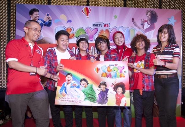 ... Hiburan Anak Indonesia Telkomsel Luncurkan Kartu As PlayMania