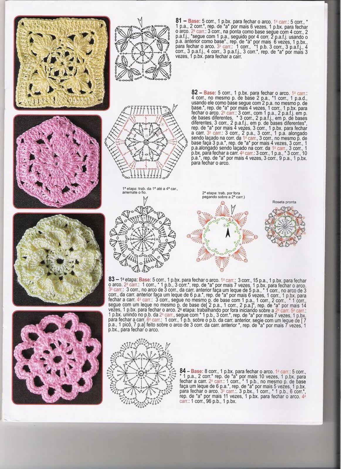 Crochet junto al fuego: Patrones