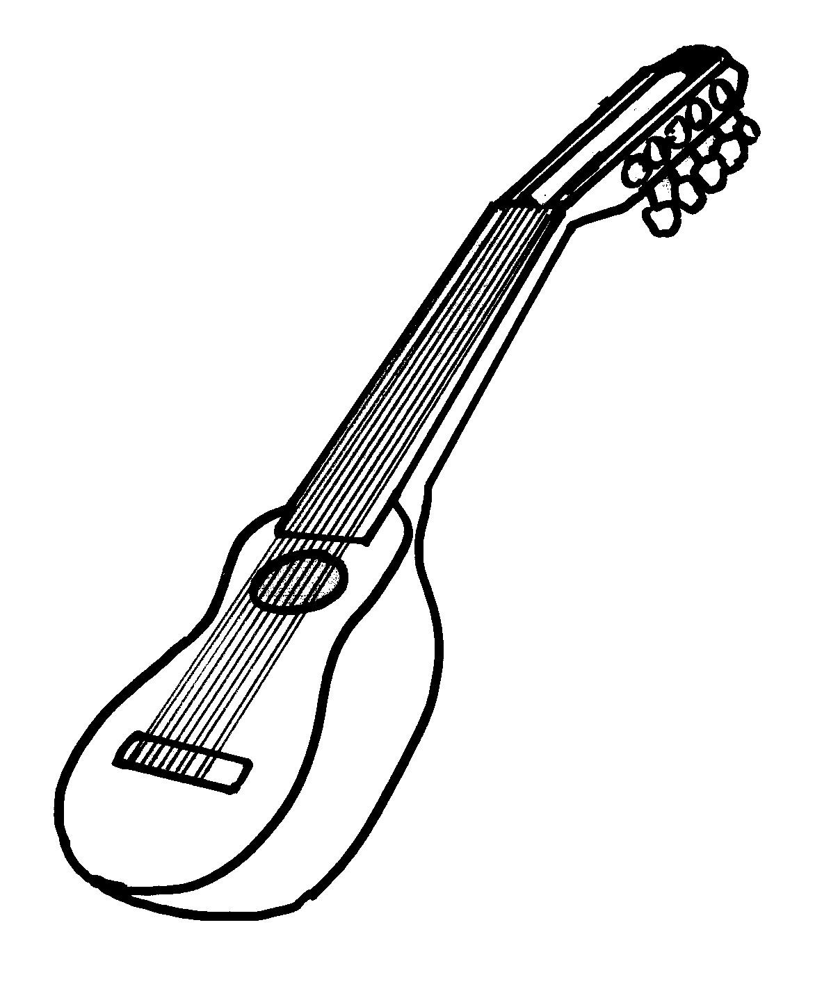 Dibujos Para Colorear E Imprimir Instrumentos Musicales ~ Ideas ...