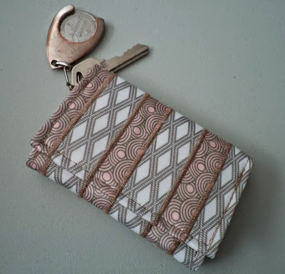 Ribbon Key Case crafted by eSheep Designs
