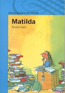 Matilda Roald Dahl exlibris lectura infantil juvenil
