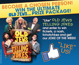 Old Jews Telling Jokes: Win the Ultimate Prize Package to this Off-Broadway Comedy