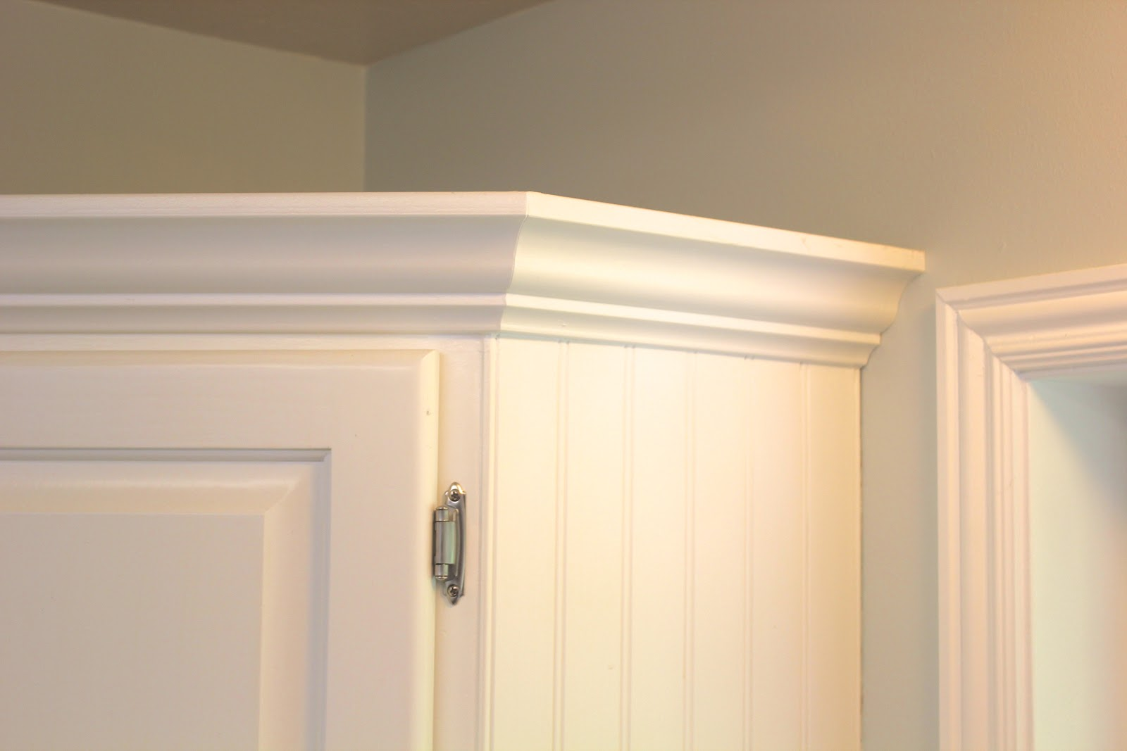... Crown Molding On Kitchen Cabinets Home And Interior Kitchen Everywhere  Beautiful Kitchen Remodel Big Results On A Not So How To Install ...