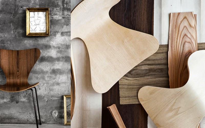 clasicos del diseno industrial reinterpretados silla 7 Arne Jacobsen