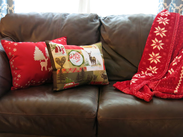 Getting there december 2015 few new christmas throw pillows this year and when i started my search i was reminded of just how much those stuffed little decorative puffs can cost solutioingenieria Choice Image