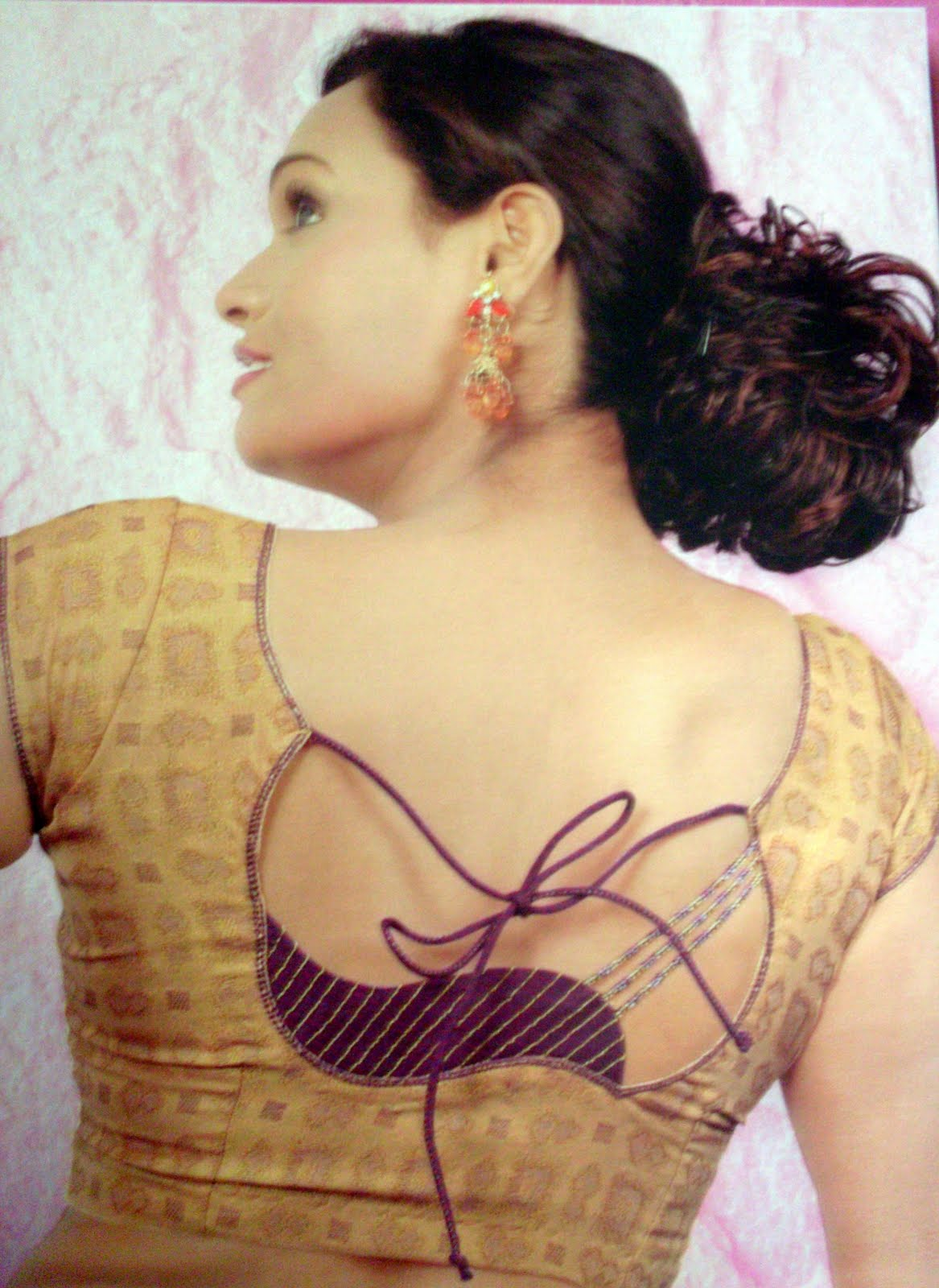 Indian Ladies Blouse Back Design 102