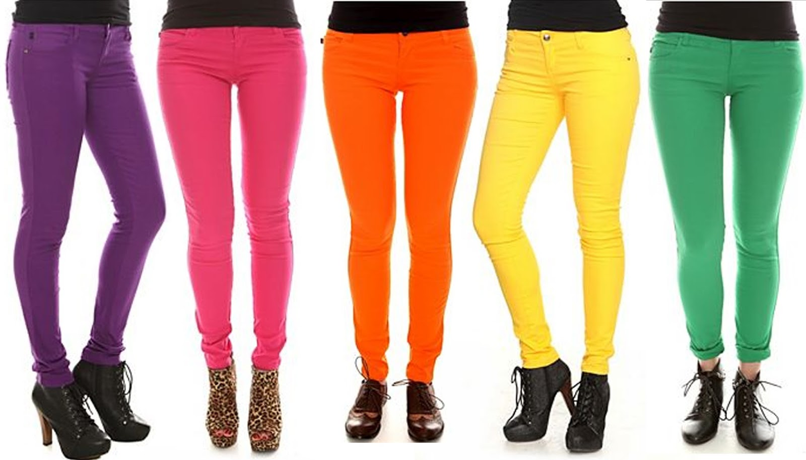 today i want...: Colored Jeans