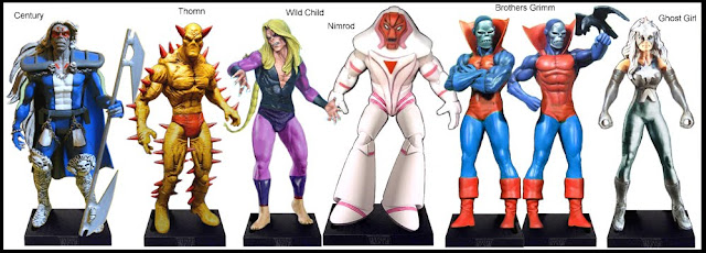 <b>Wave 52</b>: Century, Thornn, Wild Child, Nimrod, Brothers Grimm and Ghost Girl