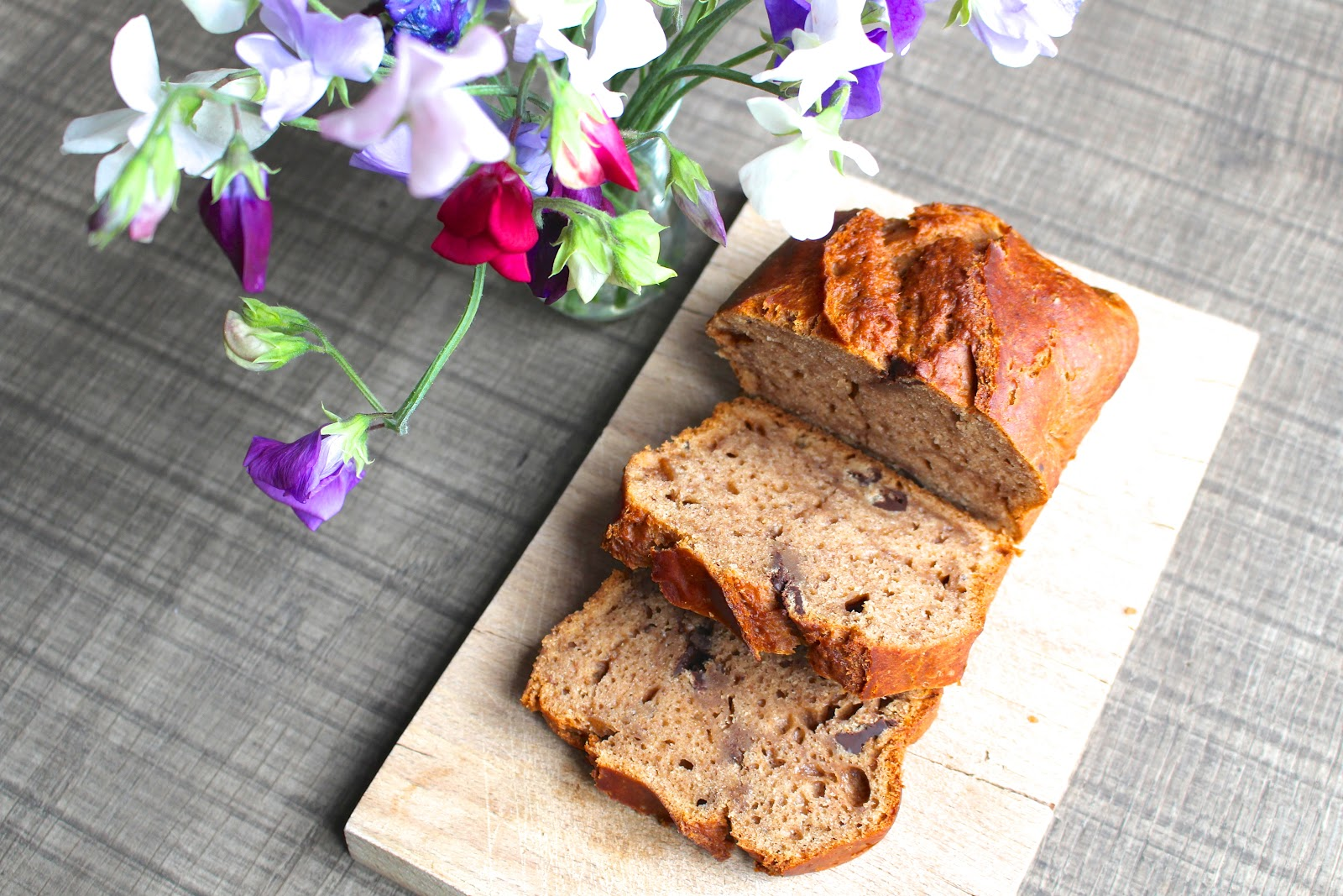 Easy vegan banana bread 6 ingredients