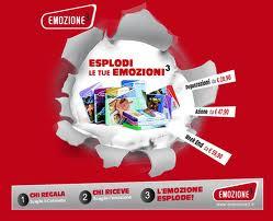 Acquisti in rete confanetto emozione3 pacchetti for Pacchetti soggiorno regalo