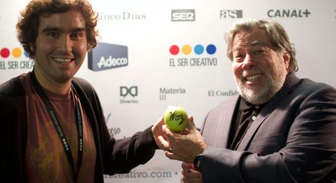 Jorge Martinez y Steve Wozniak