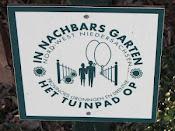Wij zijn aangesloten bij het Tuinpad Op