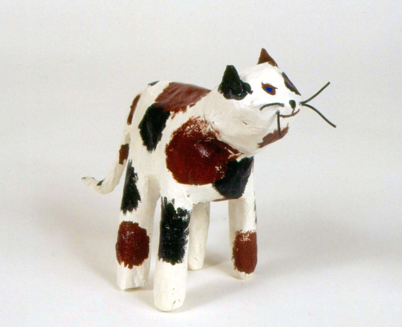 Art for small hands papier m ch animals for Making paper mache animals