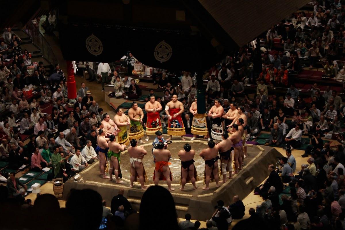 temporada de Sumo en Tokyo