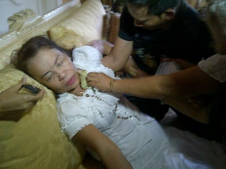 Mommy Dionisia fainted after hearing Manny Pacquiao's lost to Bradley