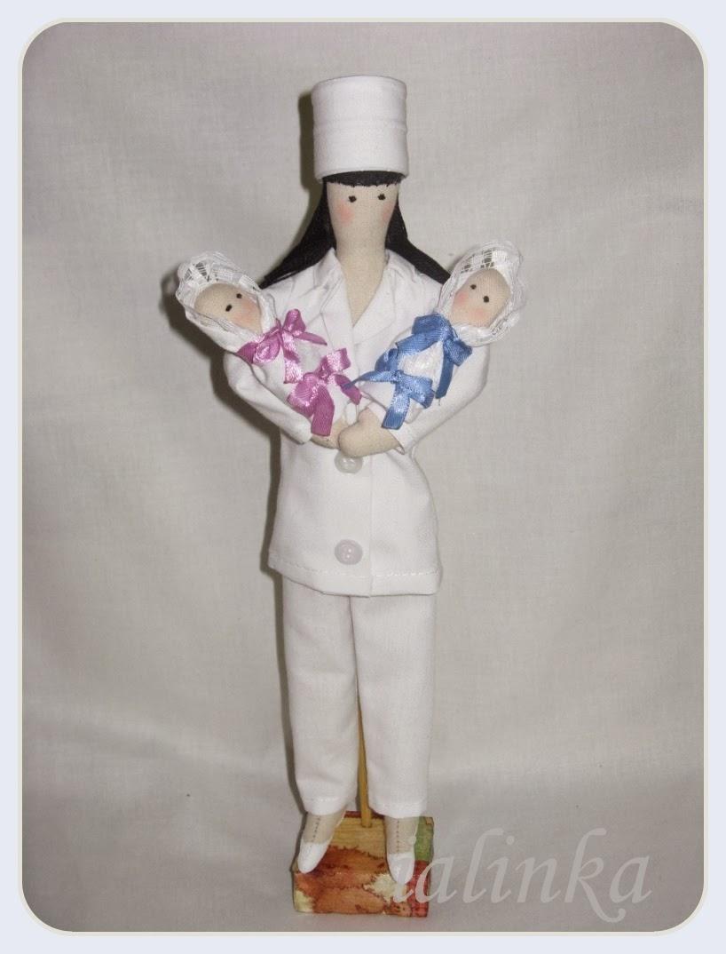 тильда  кукла  врач