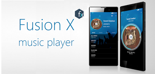 XOLO HIVE APPS fusion x music player and file manager