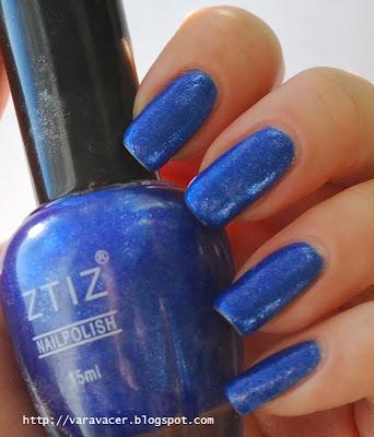 naglar, nails, nagellack, nail polish, bue, blå, zitz