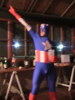 Superheroes Rokeros: Capitan America