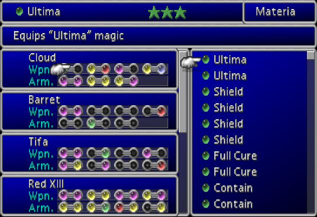 Materia System