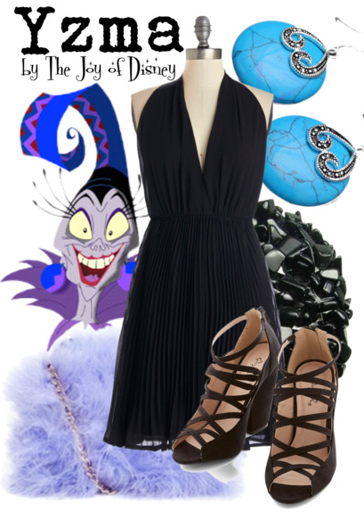 Yzma Outfit, The Emperor's New Groove Clothes, Disney Villain