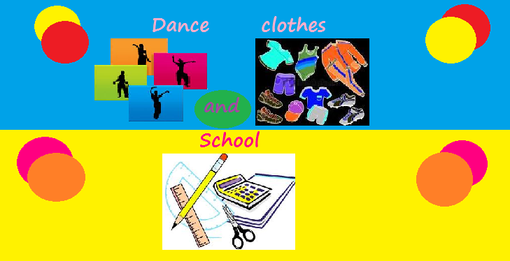 DANCE CLOTHES AND SCHOOL