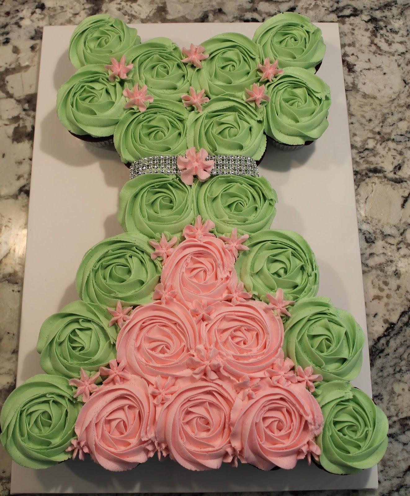 Creative Cakes by Lynn Tianna Cupcake Dress Cake