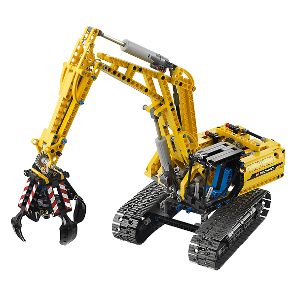 LEGO Mindstorms Projects: Lego Technic Two Input, Four Output Motor ...