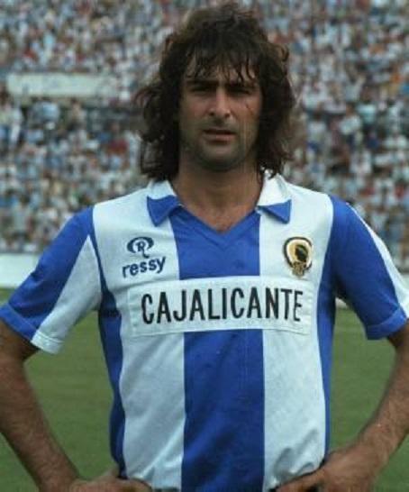 "Mario Alberto Kempes, el ""Matador"" etapa Hércules CF"