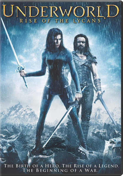 Poster Of Underworld Rise of the Lycans 2009 720p Hindi BRRip Dual Audio