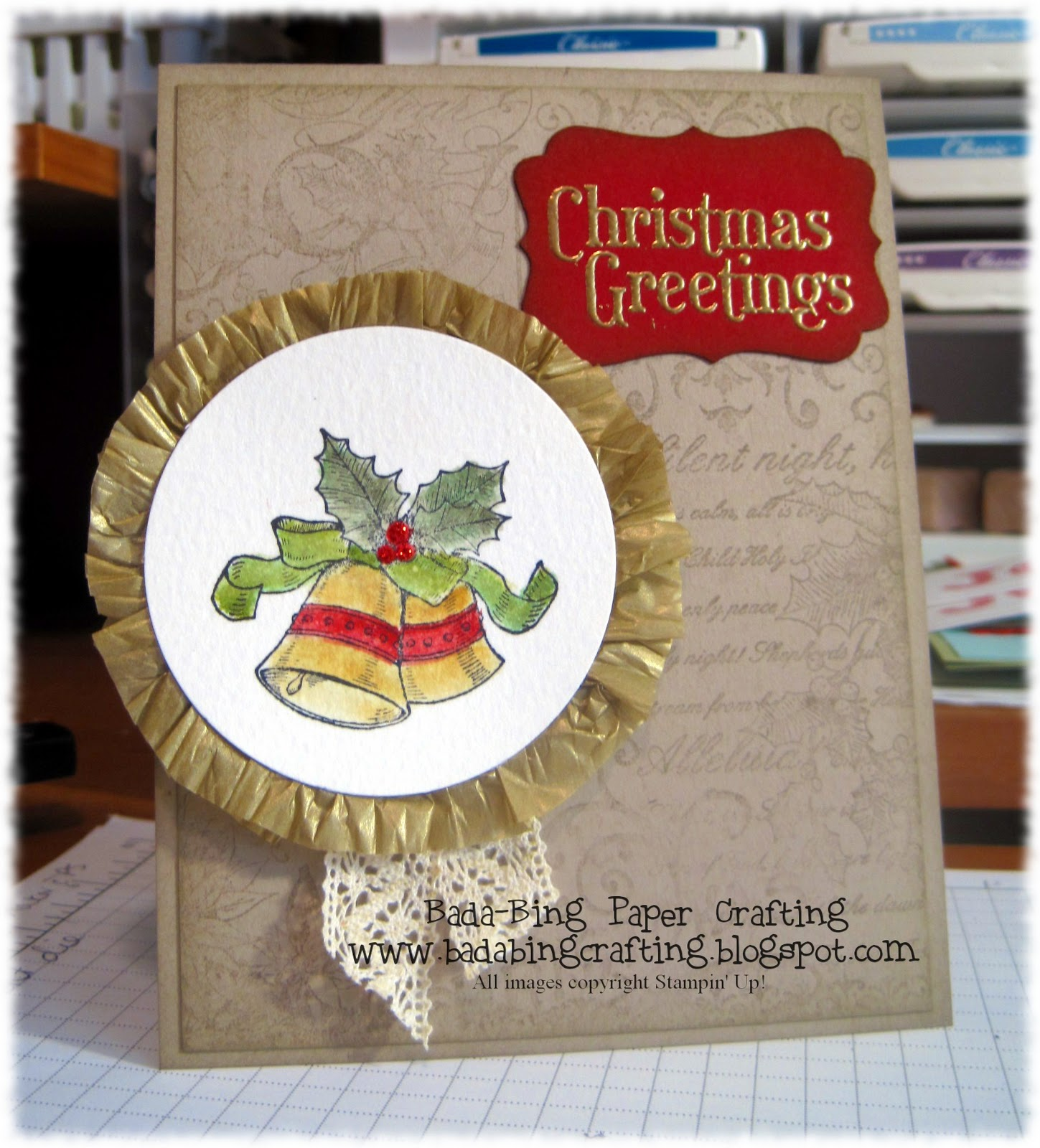 Bada Bing Paper Crafting An Old Fashioned Christmas