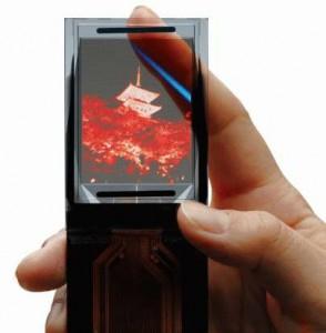 Mobile Display TDK UEL476 Transparent Bistable OLED