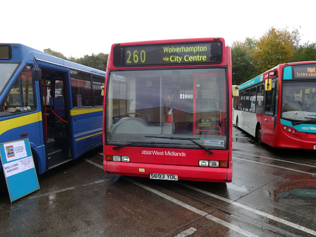 Optare Excel, Ex National Express West Midlands (693)