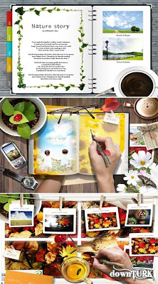 Notes Of A Naturalist (Multi-Layer PSD)