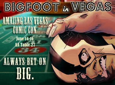 Bigfoot Sword of the Earthman bigfoot comic book amazing las vegas comic con barbarian bigfoot graphic novel
