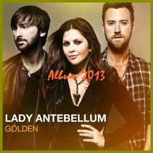 Lady Antebellum Album Golden cover