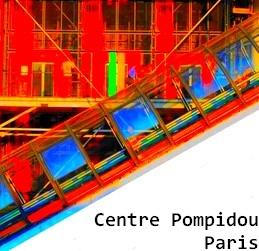 Centre Pompidou, Beaubourg, Paris