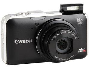 canon powershot sx230 hs manual