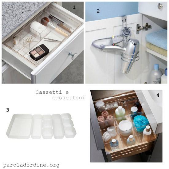 paroladordine-da avere-bagno-cassetti e cassettoni
