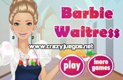 Jugar Barbie Waitress