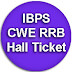IBPS RRB Hall Ticket 2015 Officer & Assistant Online Exam