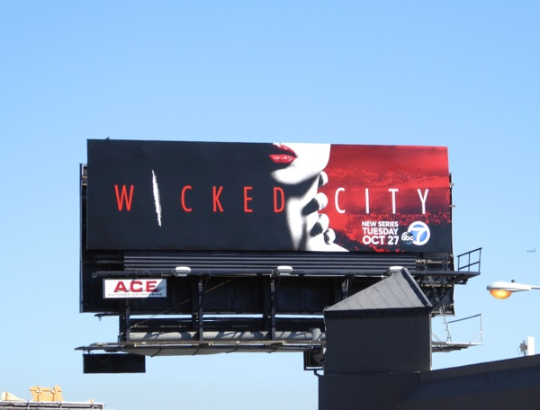 Wicked City series launch billboard