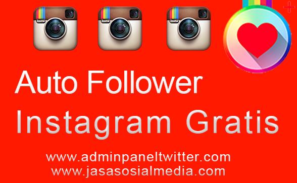 auto follower instagram tanpa spam following auto follower adalah sebuah aplikasi gratis penambah jumlah followers instagram dimana pada aplikasi tersebut
