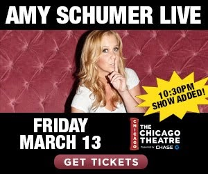 Amy Schumer @ The Chicago Theatre!