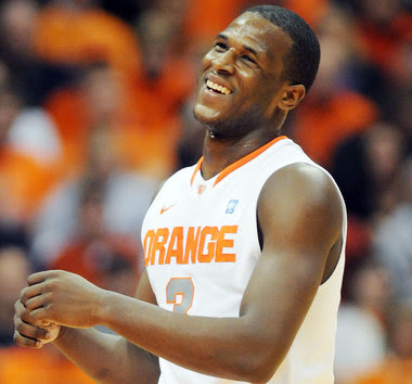 will Dion Waiters still be smiling after the NCAA Tournament?
