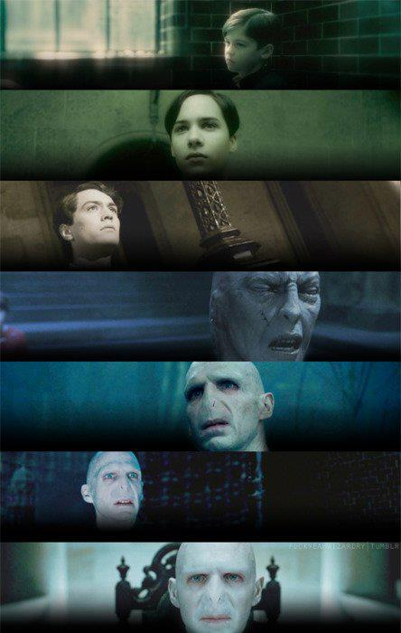 hogwarts alumni tom marvolo riddle evolution
