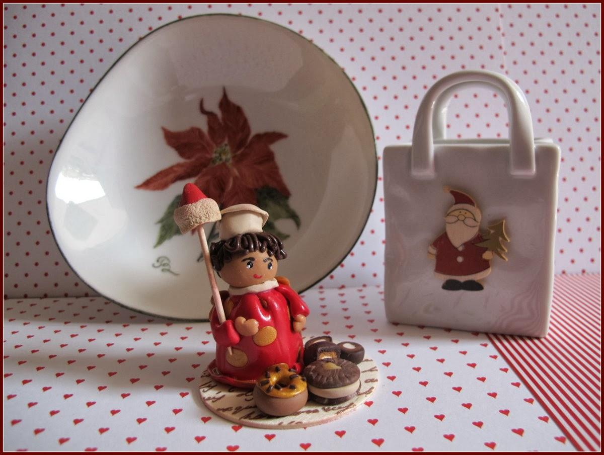 #A5262E MA PETITE PLANETE: Pâte Fimo : Décor De Table De Noël 6181 decoration de table de noel en pate fimo 1200x904 px @ aertt.com