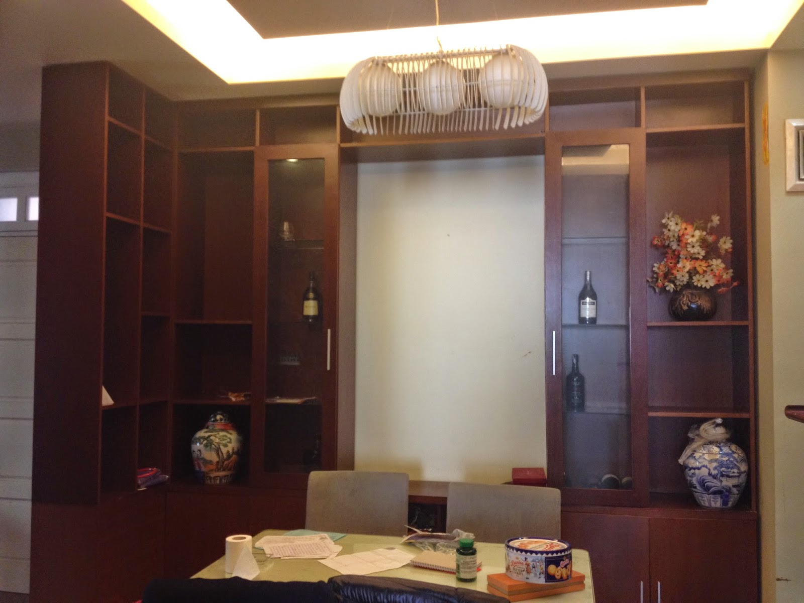 Phòng ăn căn hộ chung cư giá rẻ C5 Khu Đô Thị Mỹ Đình 1